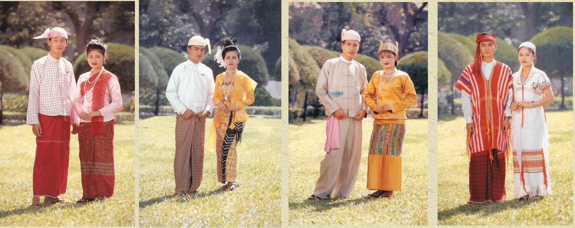 Attractive Burmese S Dance Dress Kchel S Blog